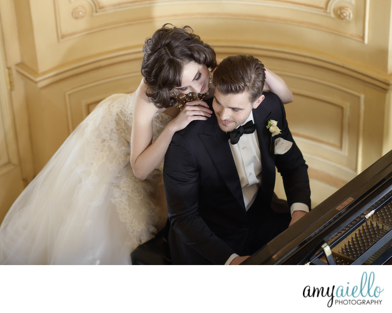 luxury chicago wedding photographer planner big city bride amy aiello black label fashion editorial style wedding photography