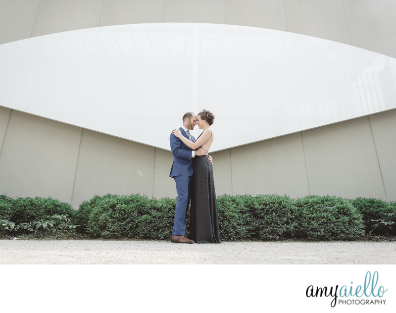 chicago pop up wedding intimate ceremony non traditional wedding art institute portraits chicago wedding photographer