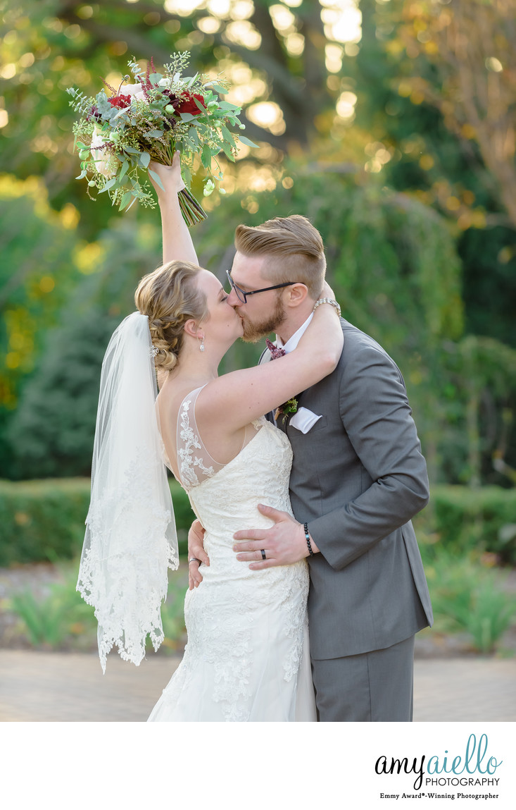 chicago suburbs wedding photographer bride and groom danada house wheaton wedding outdoor fall andrew's garden
