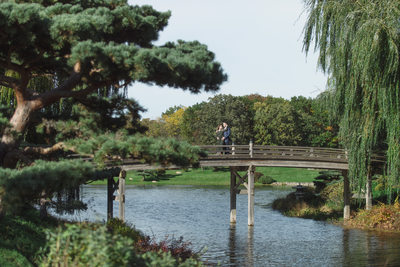 chicago botanic garden engagement session emmy award winning wedding photographer amy aiello photography