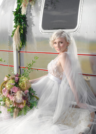 high end fashion inspired wedding photography chicago photographer emerson creek pottery and tea room ashland addison flowers and events airstream vw van rustic contemporary glam victoria sdoukos bridal couture