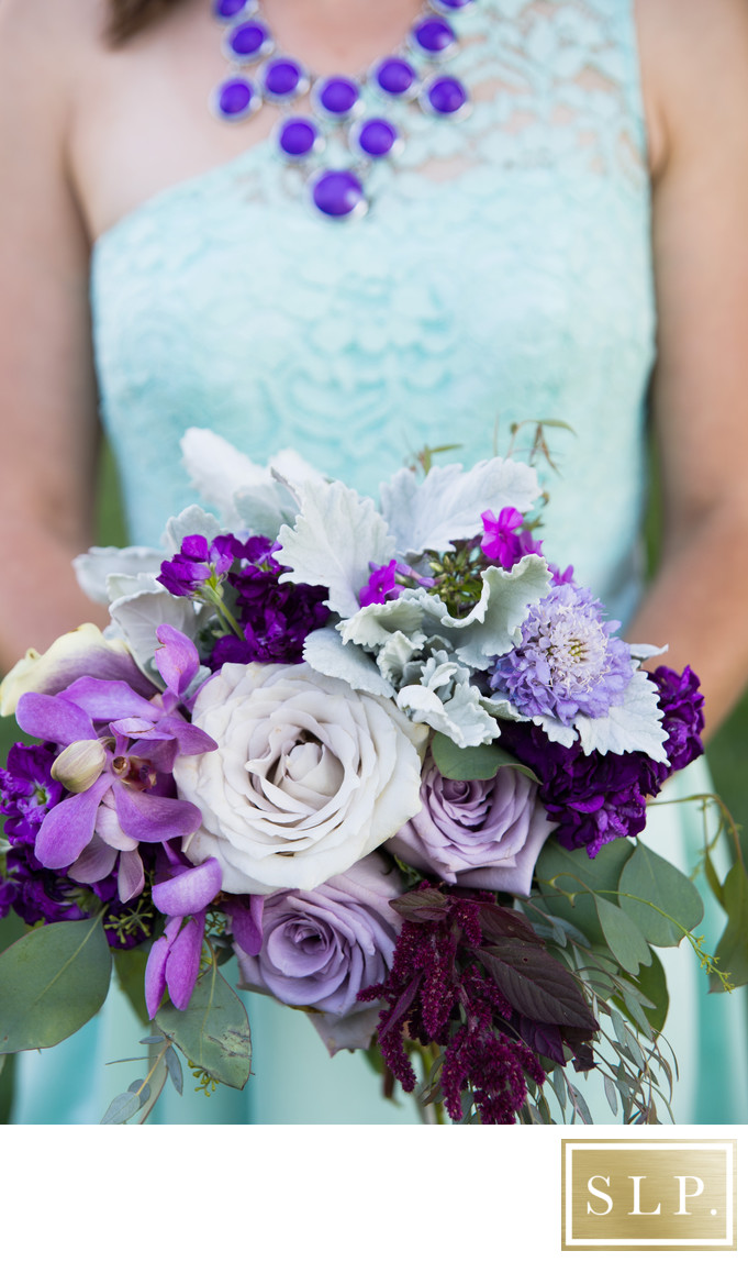 Mint and Purple Color