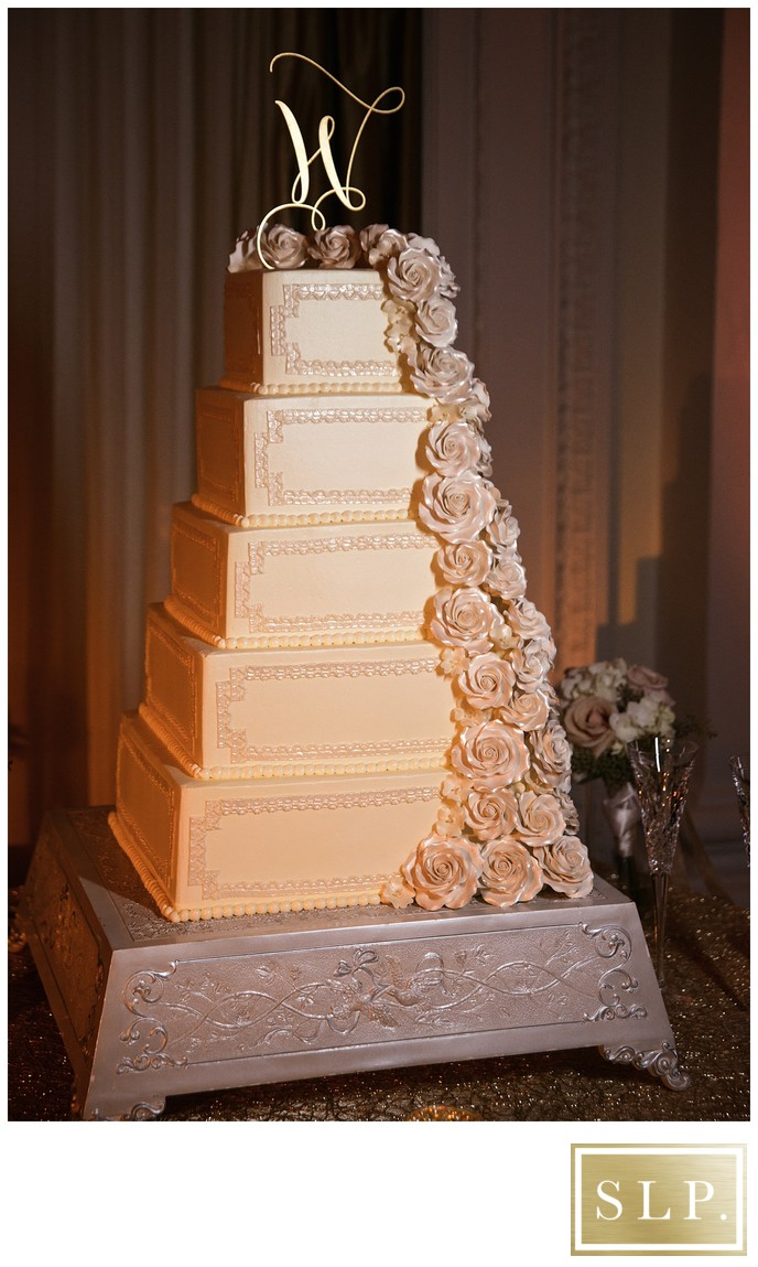 Jefferson Hotel Wedding Cake
