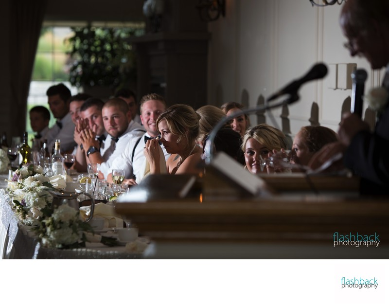 Hawkridge Golf Club Emotional Wedding Speech