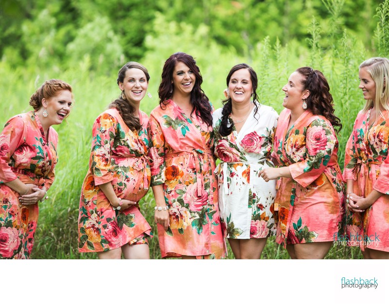 Ontario Wedding Photographer Bridesmaids Portrait