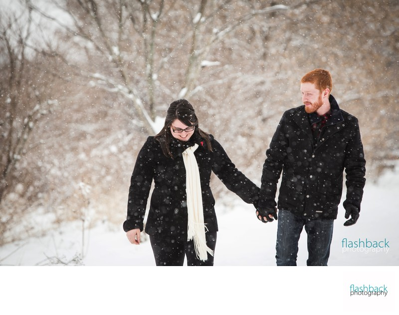 Winter Engagement Picture Ideas