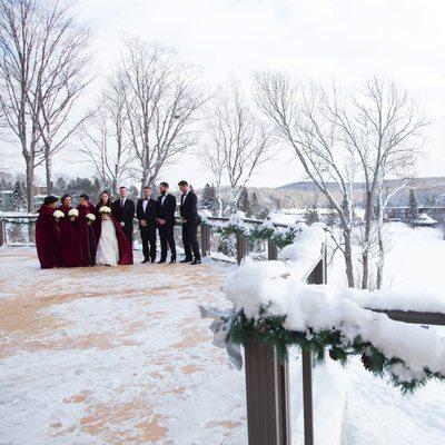 Deerhurst resort Huntsville Winter Wedding Photos