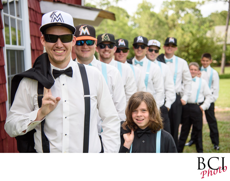 Great shots of the groomsmen