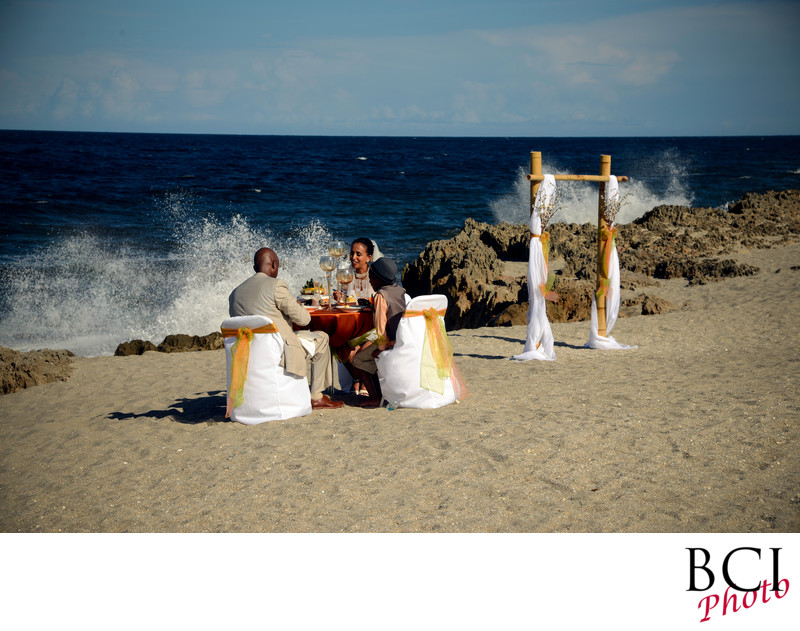 Hot Florida Beach Wedding Images