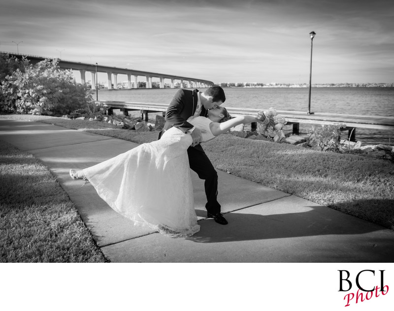 Most Dramatic wedding images in the Stuart area