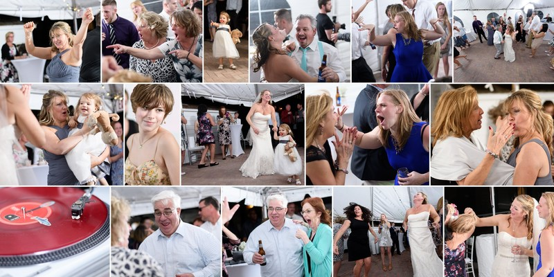 Which wedding photographers have the best party pix