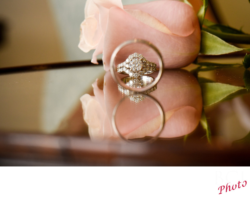 Cool Wedding Ring Shot Ideas