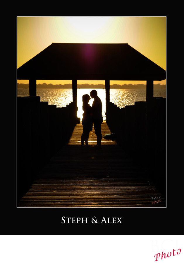 Sunset Engagement Sessions @ the House of Refuge Stuart