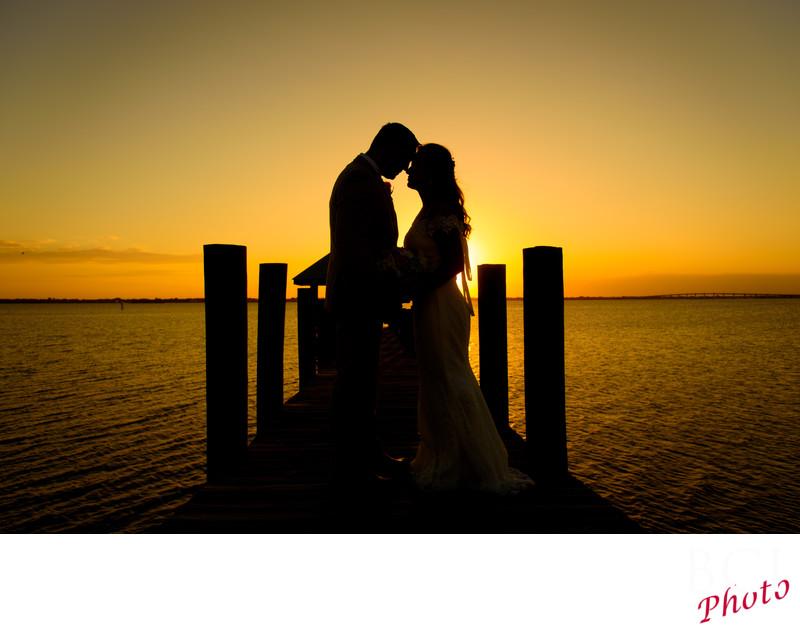 Fantastic Sunset Wedding at the House of Refuge.