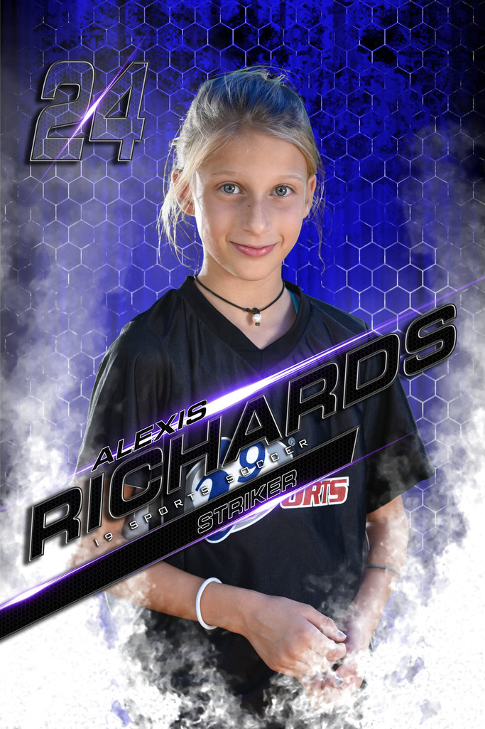 Custom youth sports banners