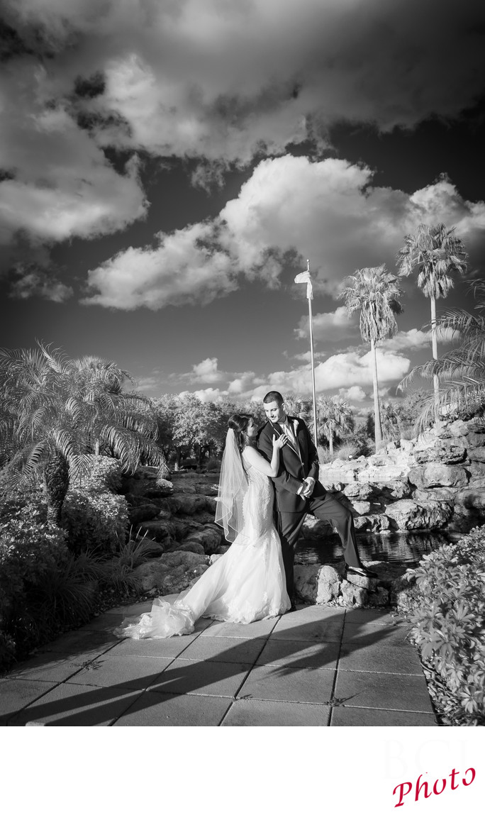 Florida Wedding Images at St Lucie Trail Golf Club (formerly PGA CC)
