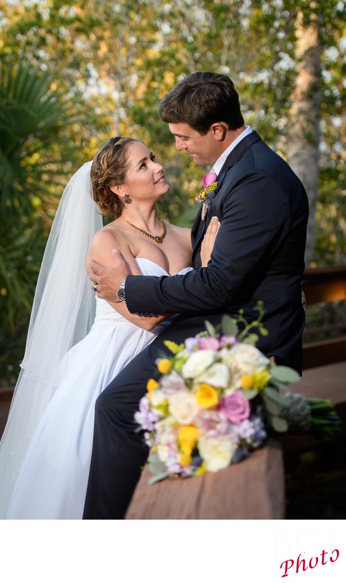 Florida Wedding Images at Indian Riverside Park.