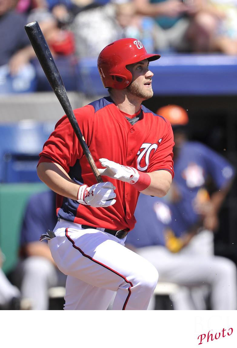 Bryce Harper: Houston Astros at Washington Nationals