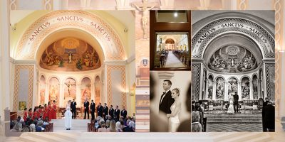 Amazing church wedding ceremony pictures