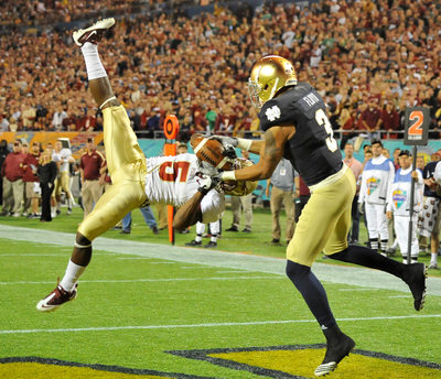 NCAA Champs Sports Bowl-Notre Dame vs Florida State