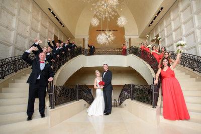 Great Bridal Party shots at the Four Seasons Disney