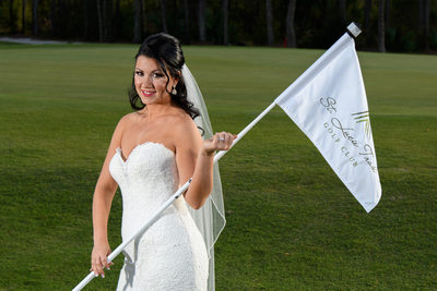 Florida Wedding Images from St Lucie Trail Golf Club