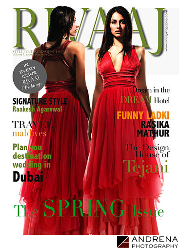 Rivaaj Magazine Cover Wedding Dresses