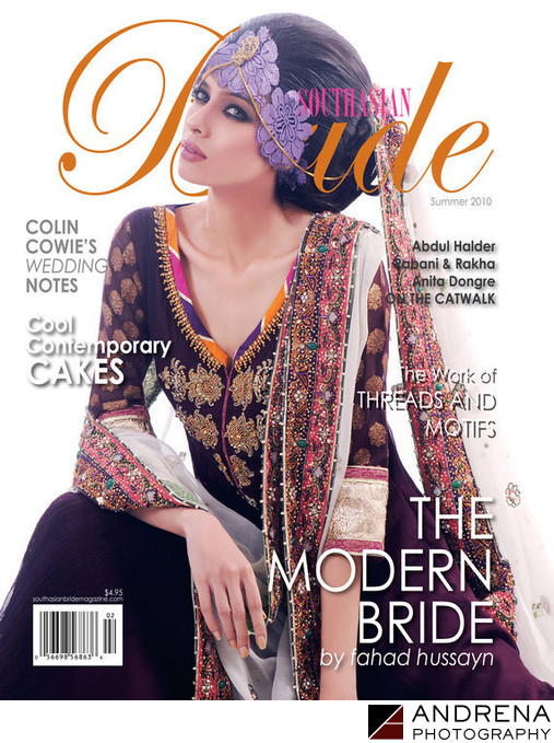 South Asian Bride Magazine Summer Magazine Cover