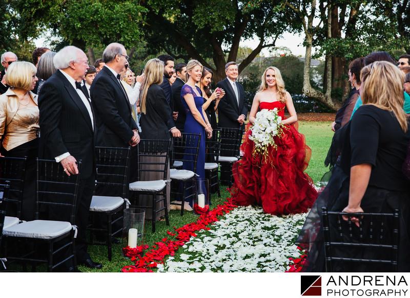 Red Vera Wang Wedding Dress Wedding