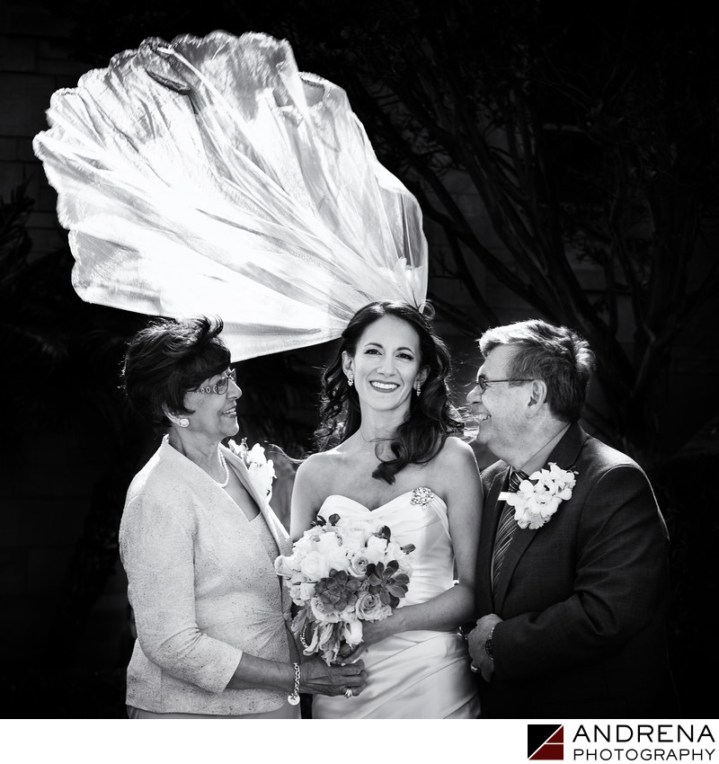 St. Monica's Wedding Photographer