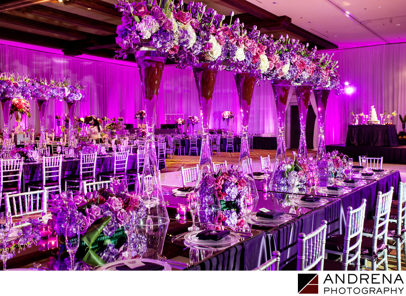 Orange County Wedding Photographer Ballroom Decor