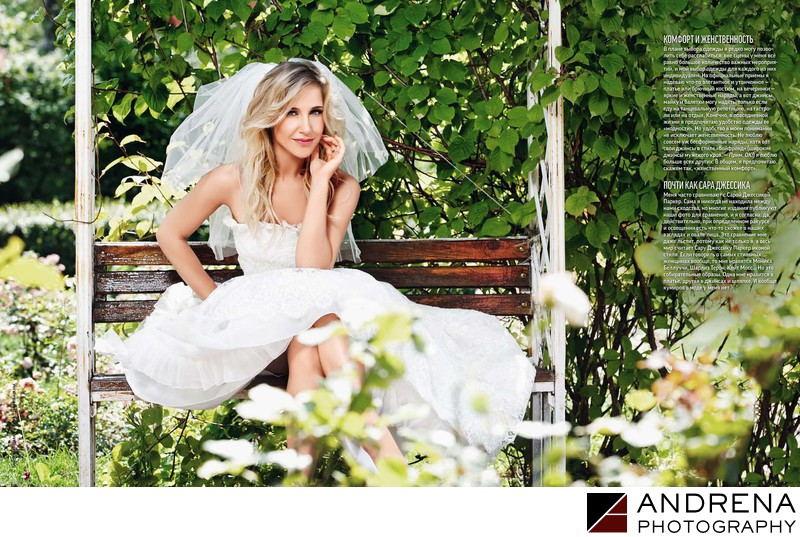 OK Magazine Wedding Feature Andrena Photography