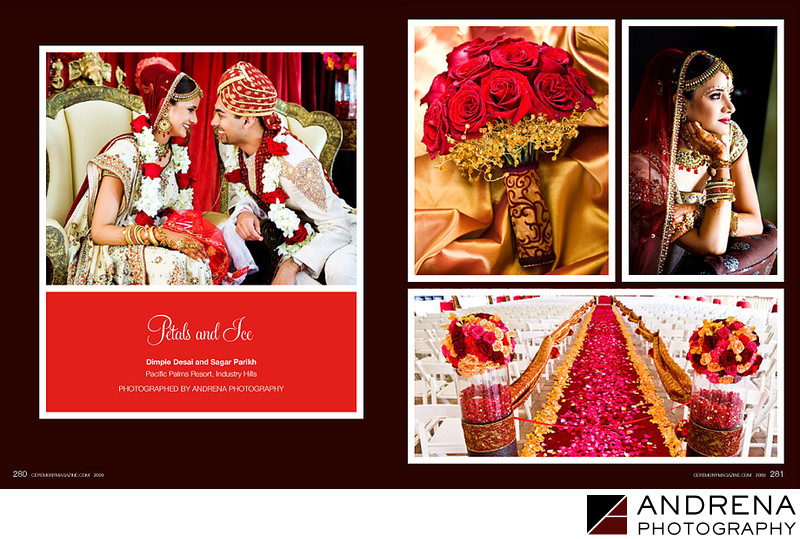Pacific Palms Indian Wedding Ceremony Magazine