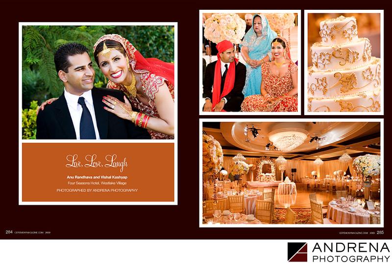 Four Seasons Westlake Wedding Ceremony Magazine
