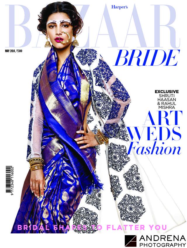 Harper's Bazaar Wedding Photography Article