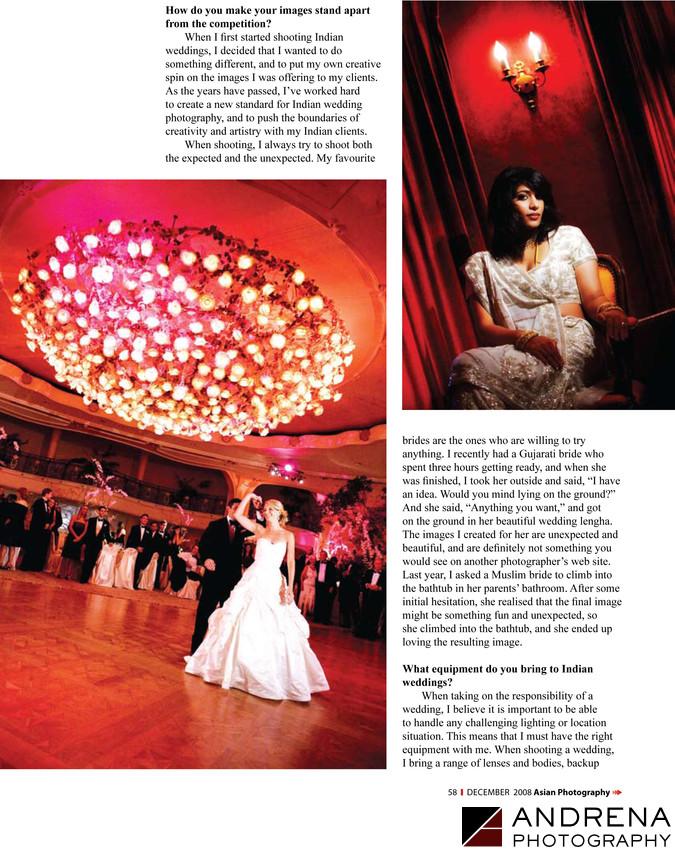 Video Light Bridal Portraits