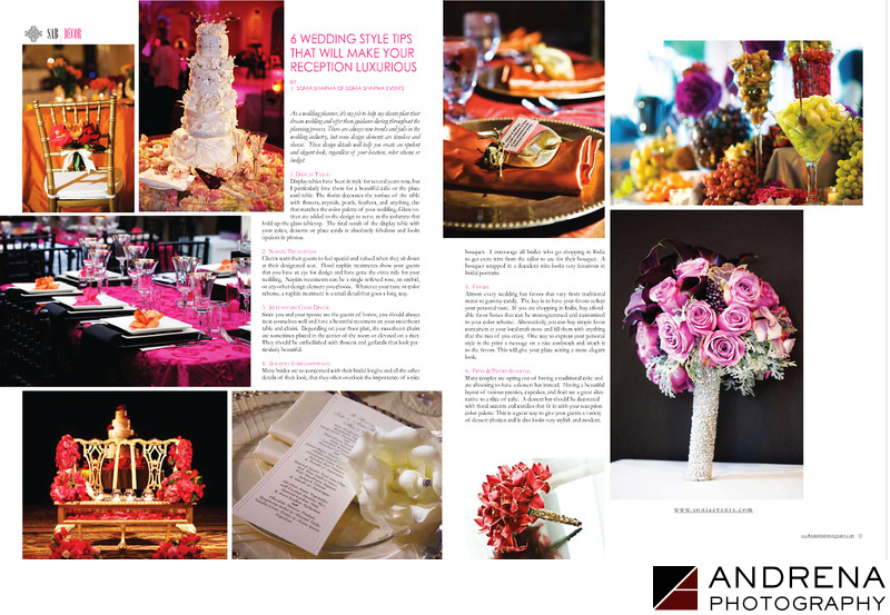 Wedding Decor Shirvan Design Shawna Yamamoto
