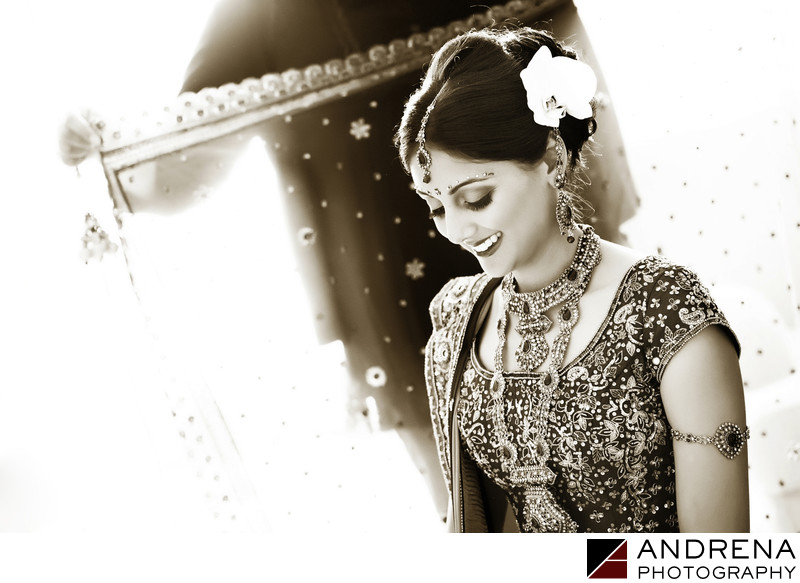 Montage Laguna Indian Wedding Bride Getting Ready