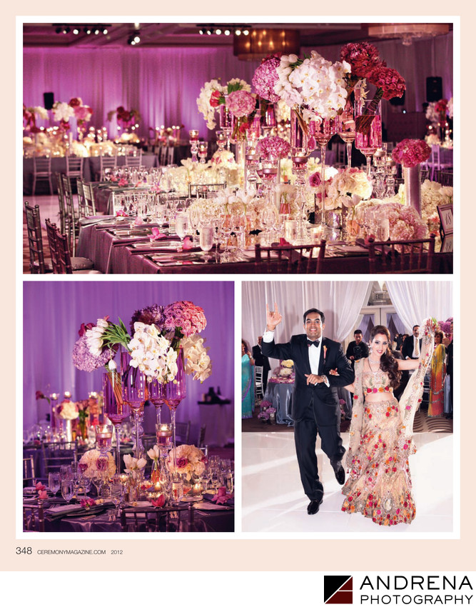 Square Root Reception Ritz Carlton Ceremony Magazine