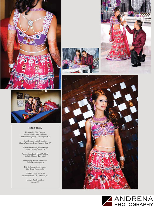 Cinal Bhindi Wedding to Taju Patel South Asian Bride