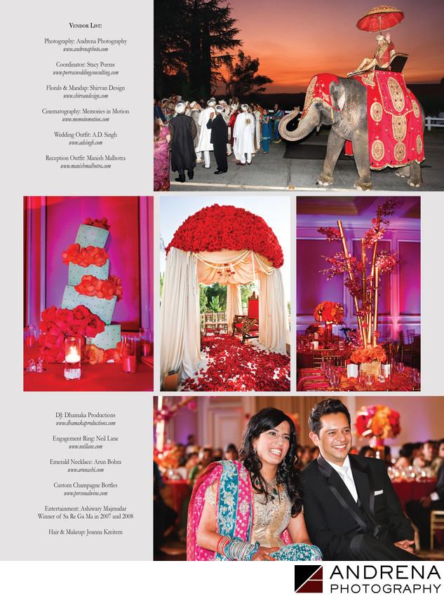 Langham Pasadena Wedding Reception