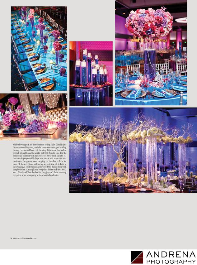 Shawna Yamamoto Flowers Cinal Bhindi Wedding