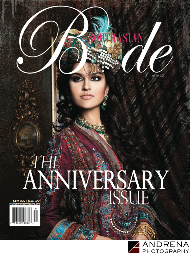 South Asian Bride Magazine Anniversary Issue Cover