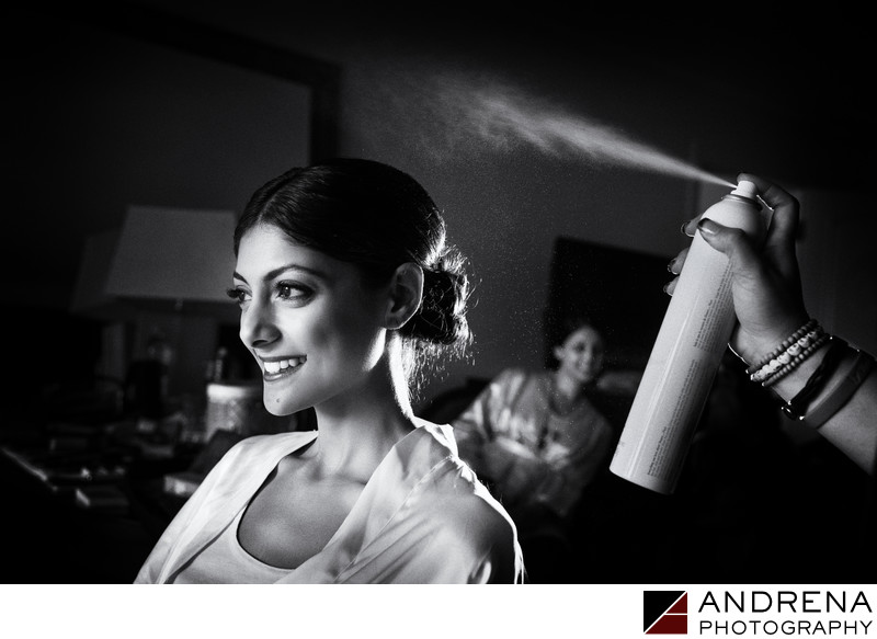 St Regis Indian Wedding Photographer Bride Getting Ready
