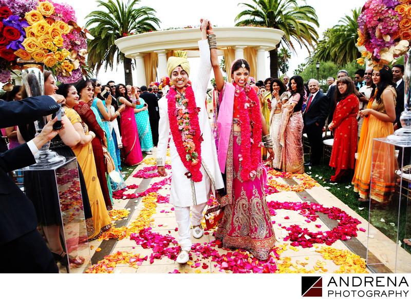 St Regis Monarch Beach Indian Wedding Photographers
