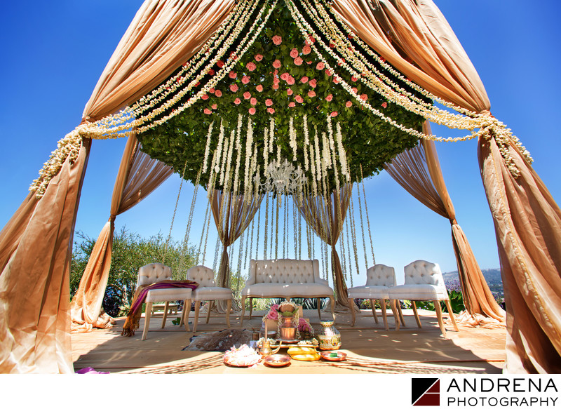 Mandap Design Indian Wedding Photographer