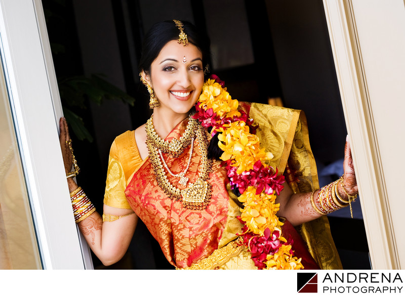 South Indian Wedding Photographer St. Regis Dana Point Monarch Beach