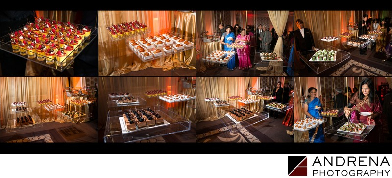 Hanging Dessert Table Ritz Carlton Laguna Niguel