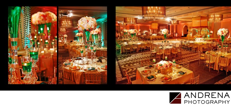 Ritz Laguna Niguel Wedding Reception Ballroom Decor