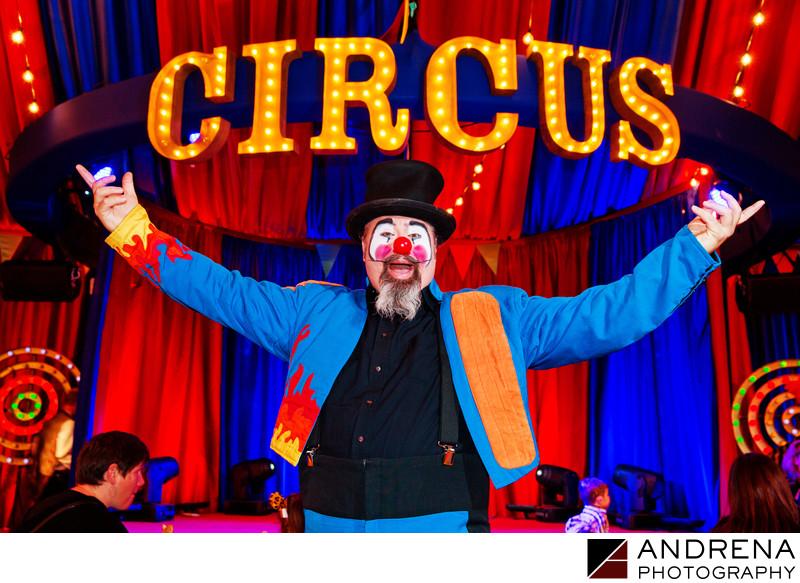 Circus Themed Party Photos